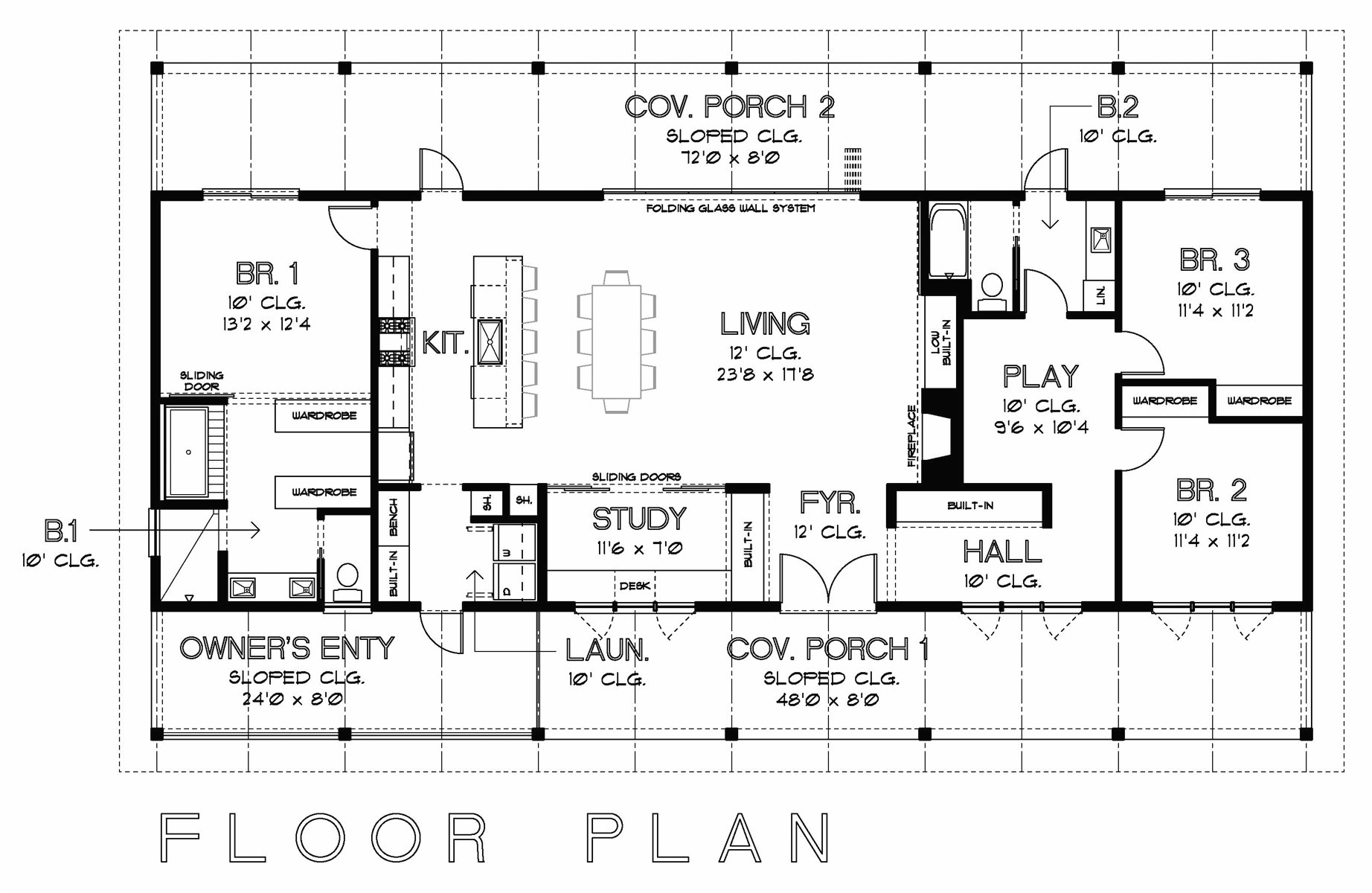 Home Floor Plans for Sale Usonian House Plans New House Plans Frank Lloyd Wright