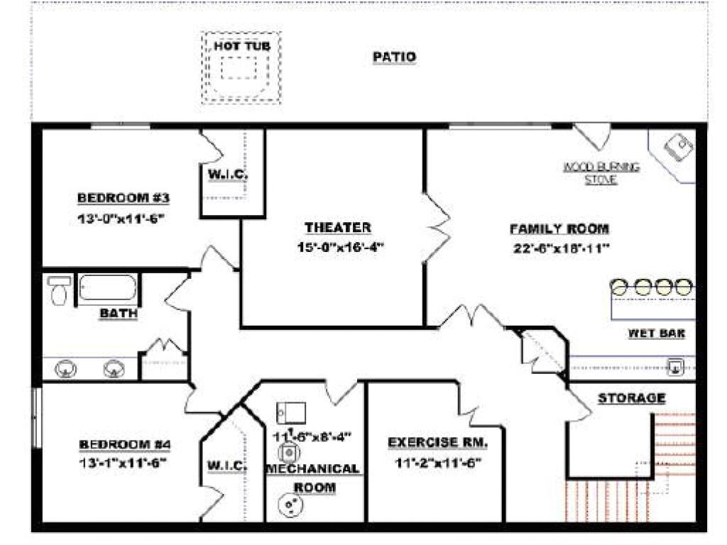 c812a05caaa65a82 small modular homes floor plans floor plans with walkout basement