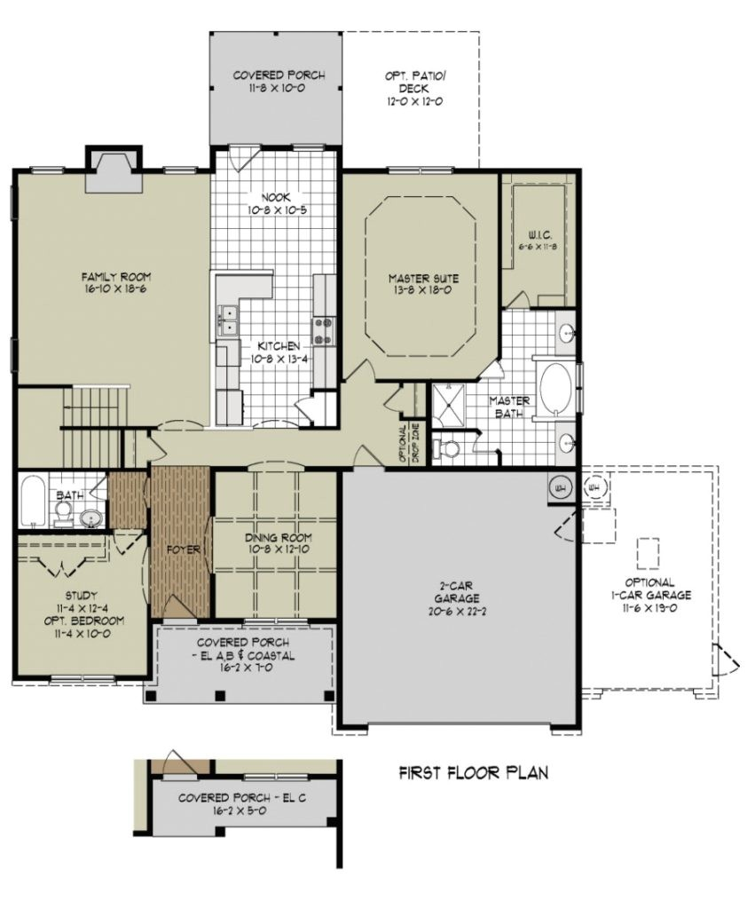 awesome new home floor plan
