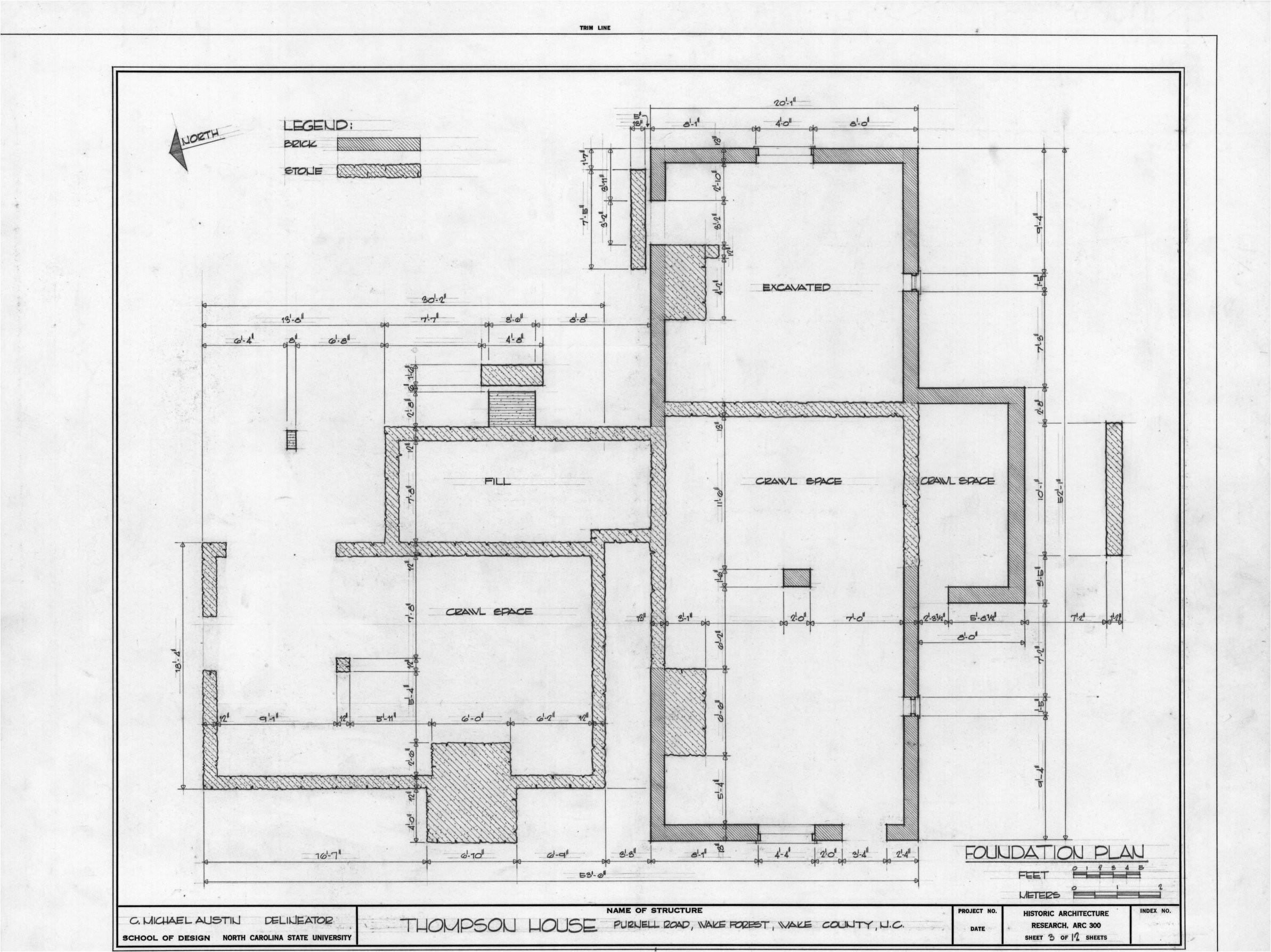 Home Foundation Plan Foundation Plans House Building Blue Print Home Building