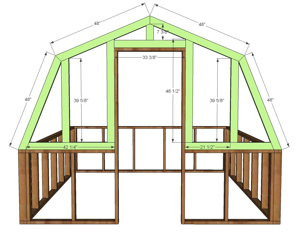 greenhouse woodworking plans