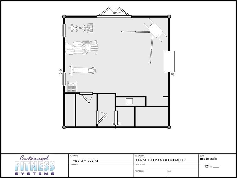 gym floor plans
