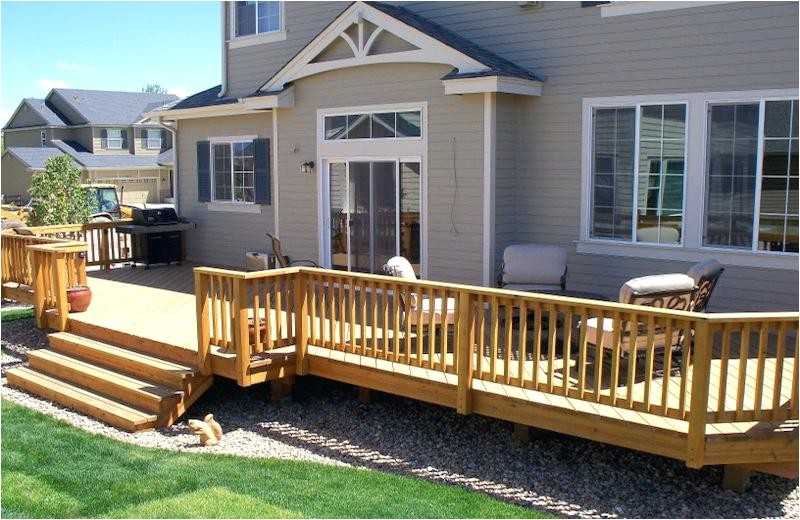 home deck how to build a simple deck on a budget home hardware deck plans
