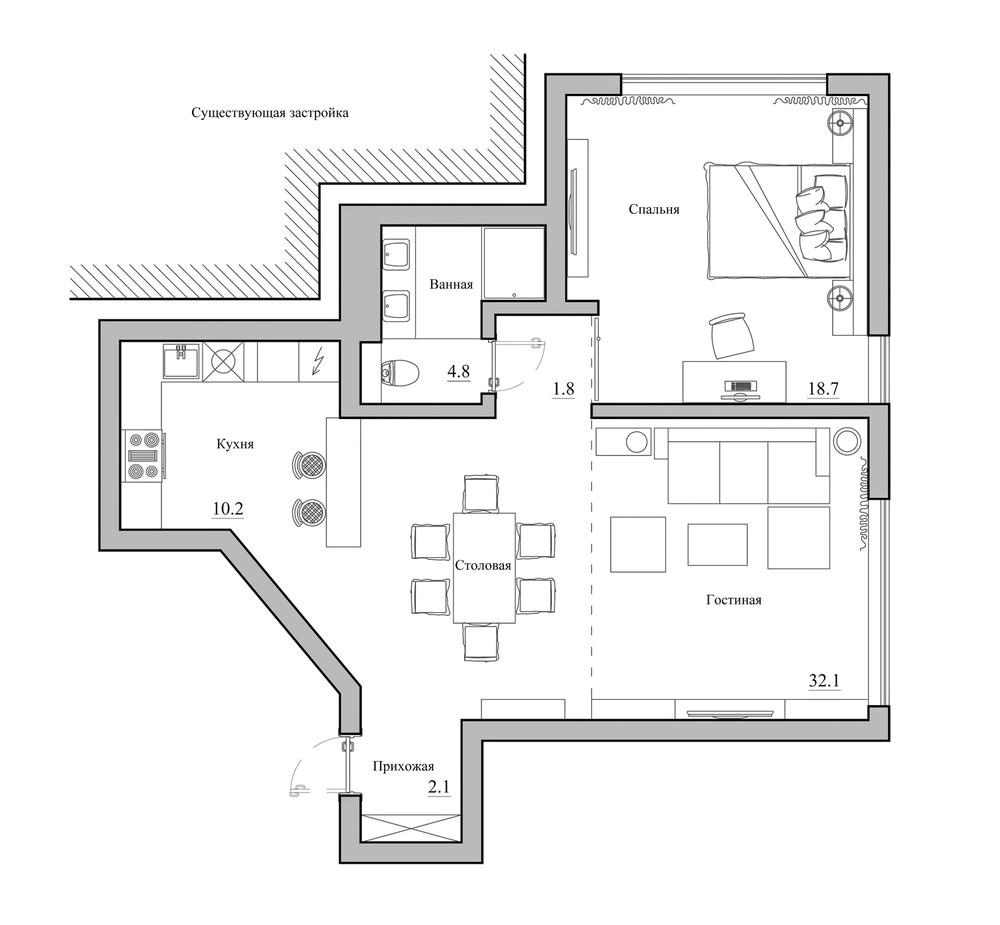 8 home plan