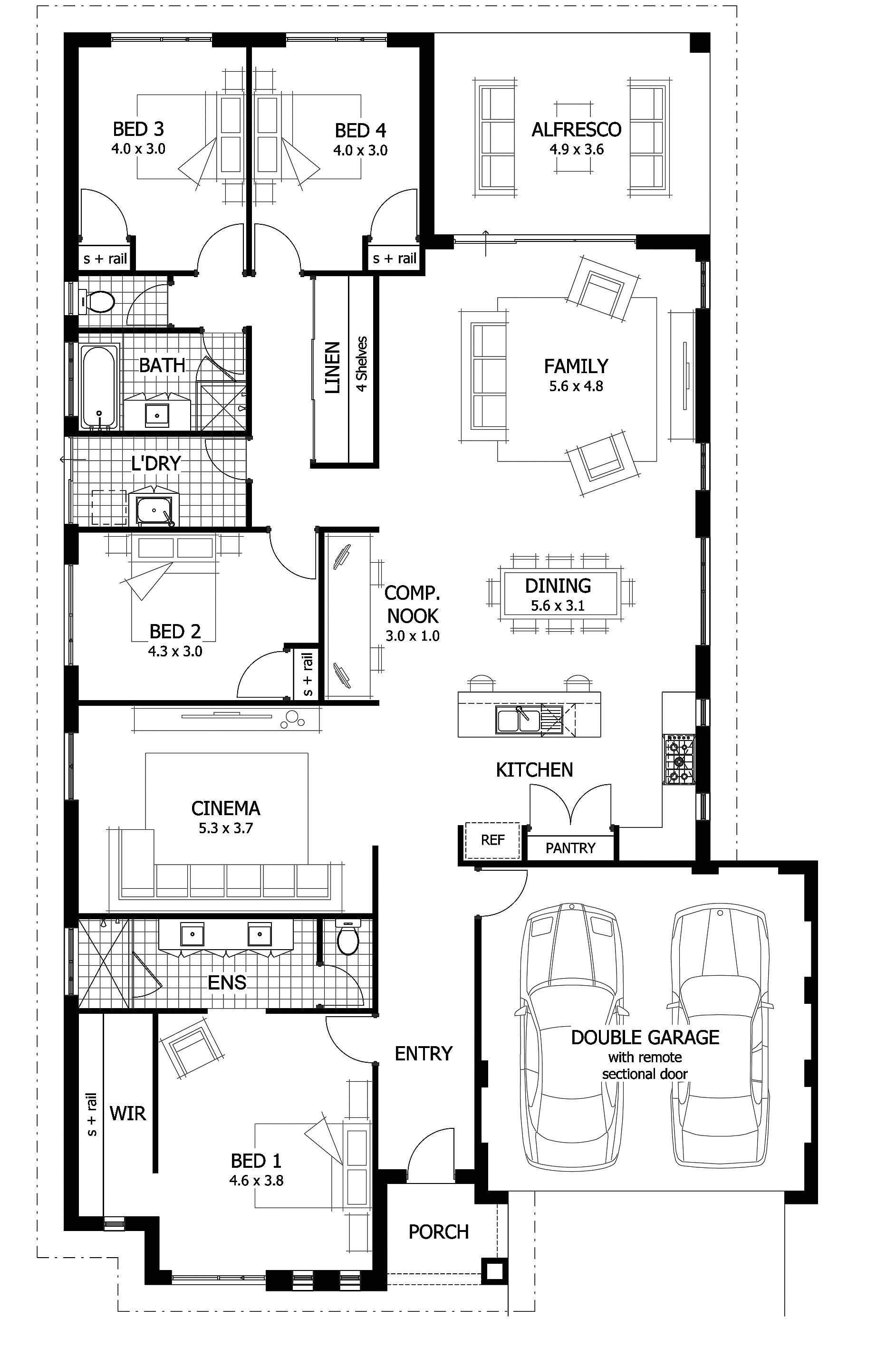 luxury home floor plans australia