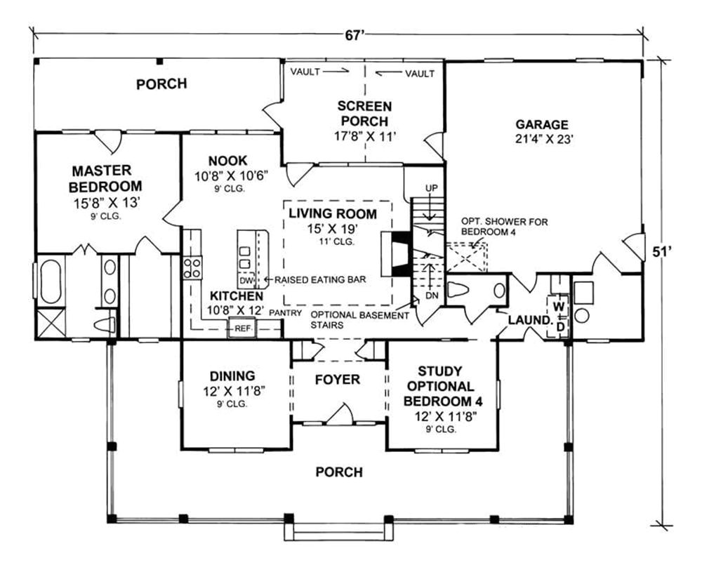 home plan 5877