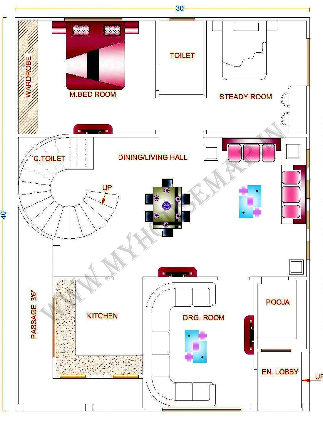 Home Map Design Free Layout Plan In India Tags House Map Design House Map Elevation Exterior