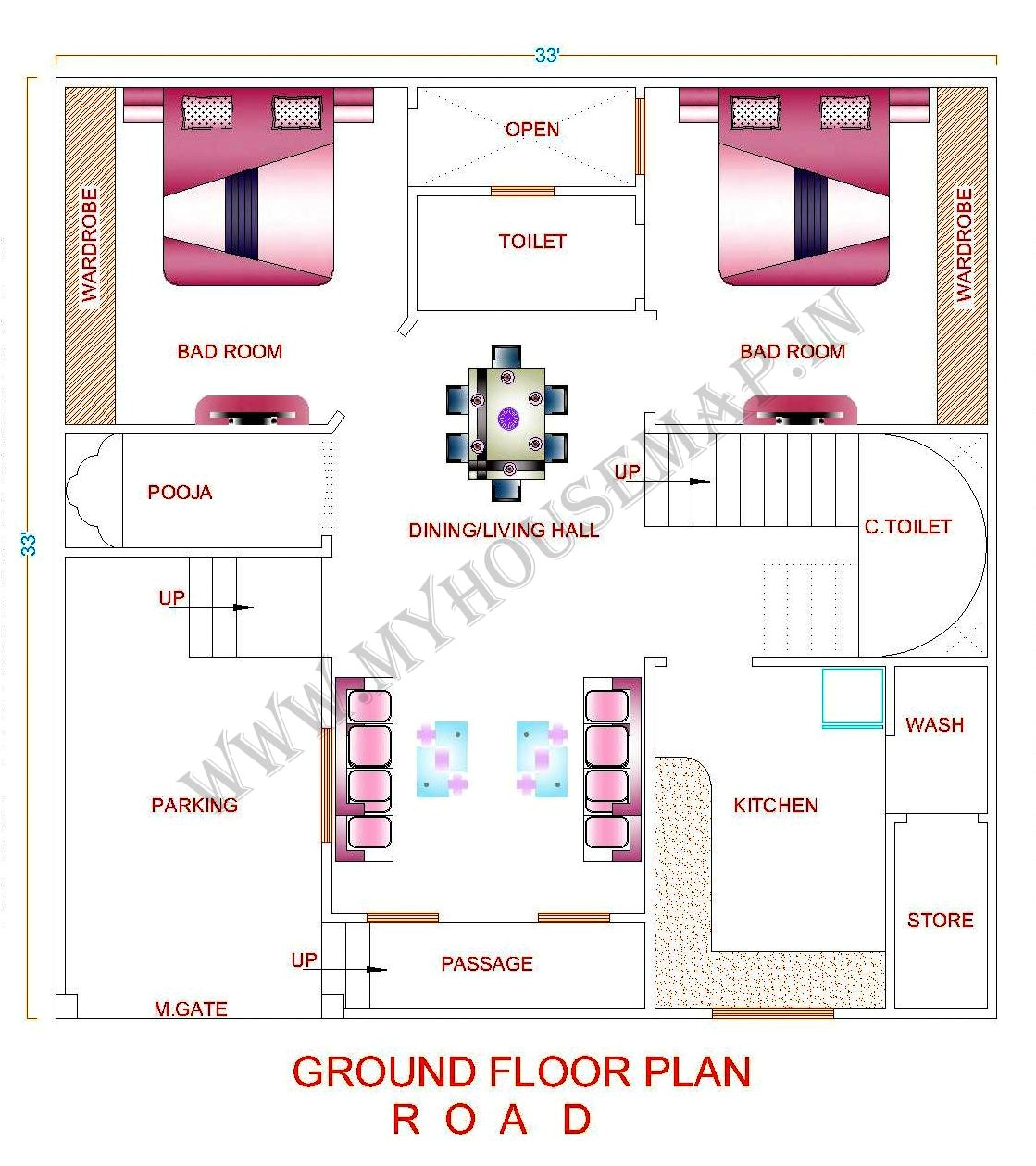 Home Map Design Free Layout Plan In India Tags Indian House Map Design Sample House Map