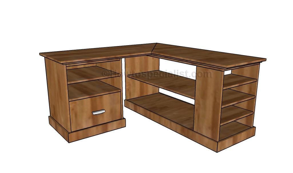 office desk design plans