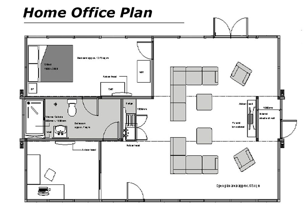 Home Office Plans Layouts Home Office Floor Plans Home Office Floor Plans Dream