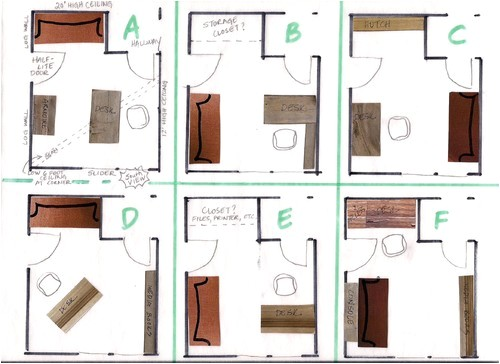which home office layout