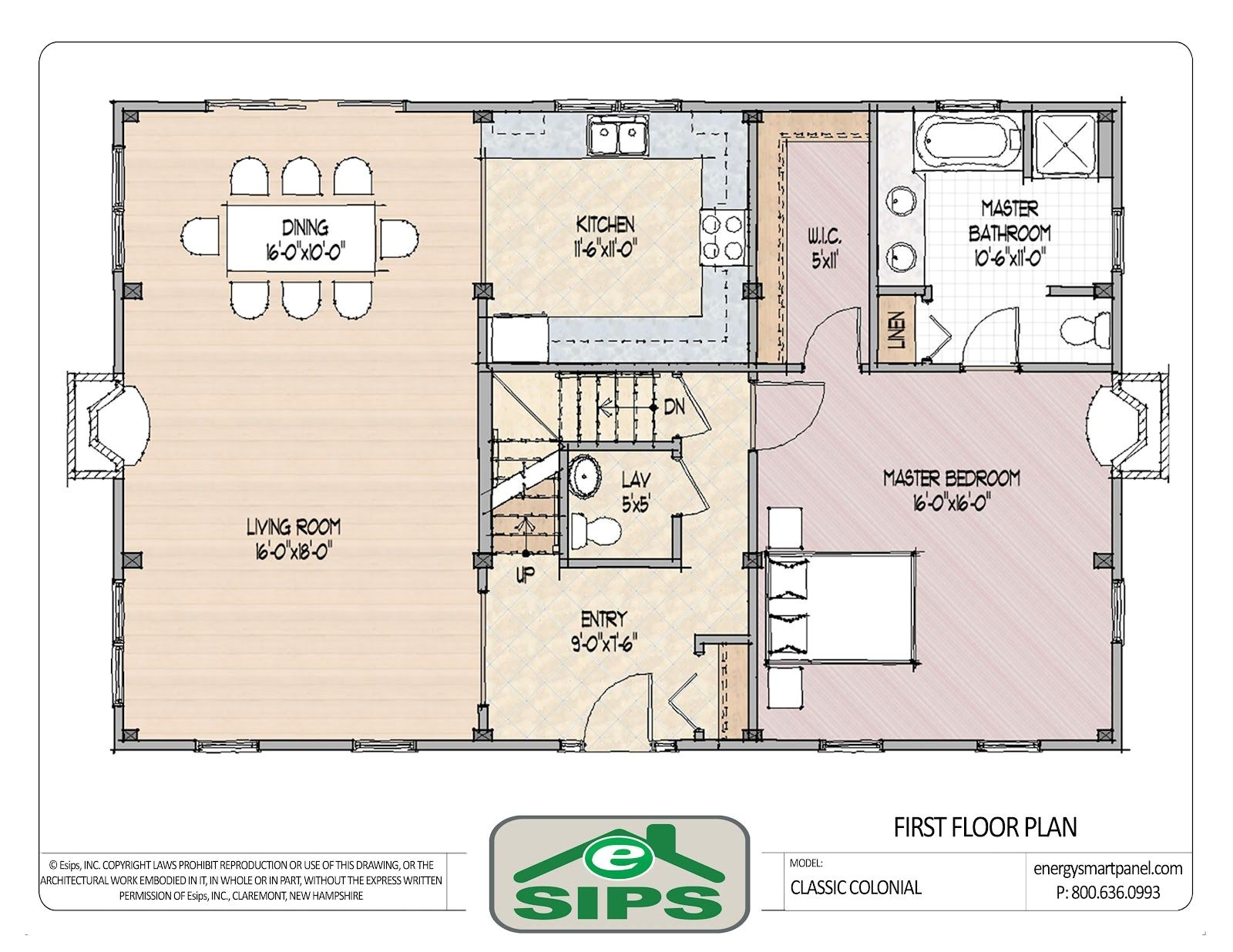 Home Open Floor Plans Open Floor Plan Colonial Homes House Plans Pinterest
