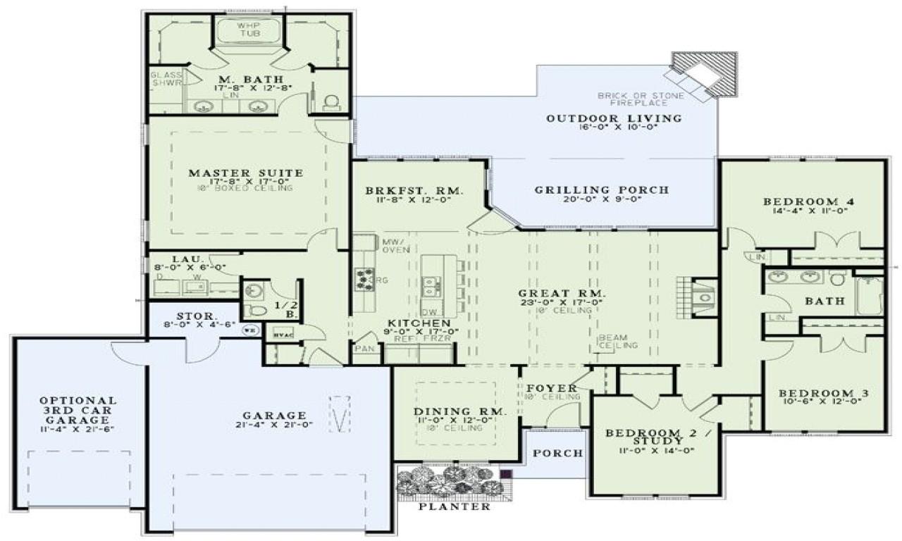 Home Open Floor Plans Open Floor Plan Homes Dream Home Floor Plans Nelson