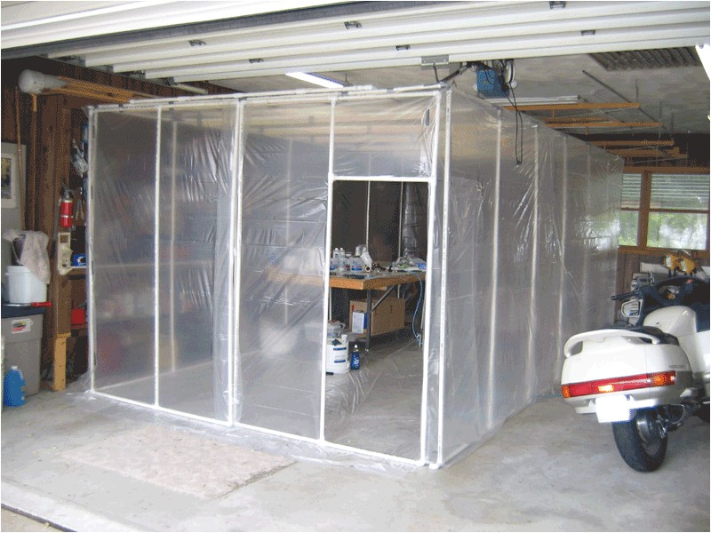 home paint booth