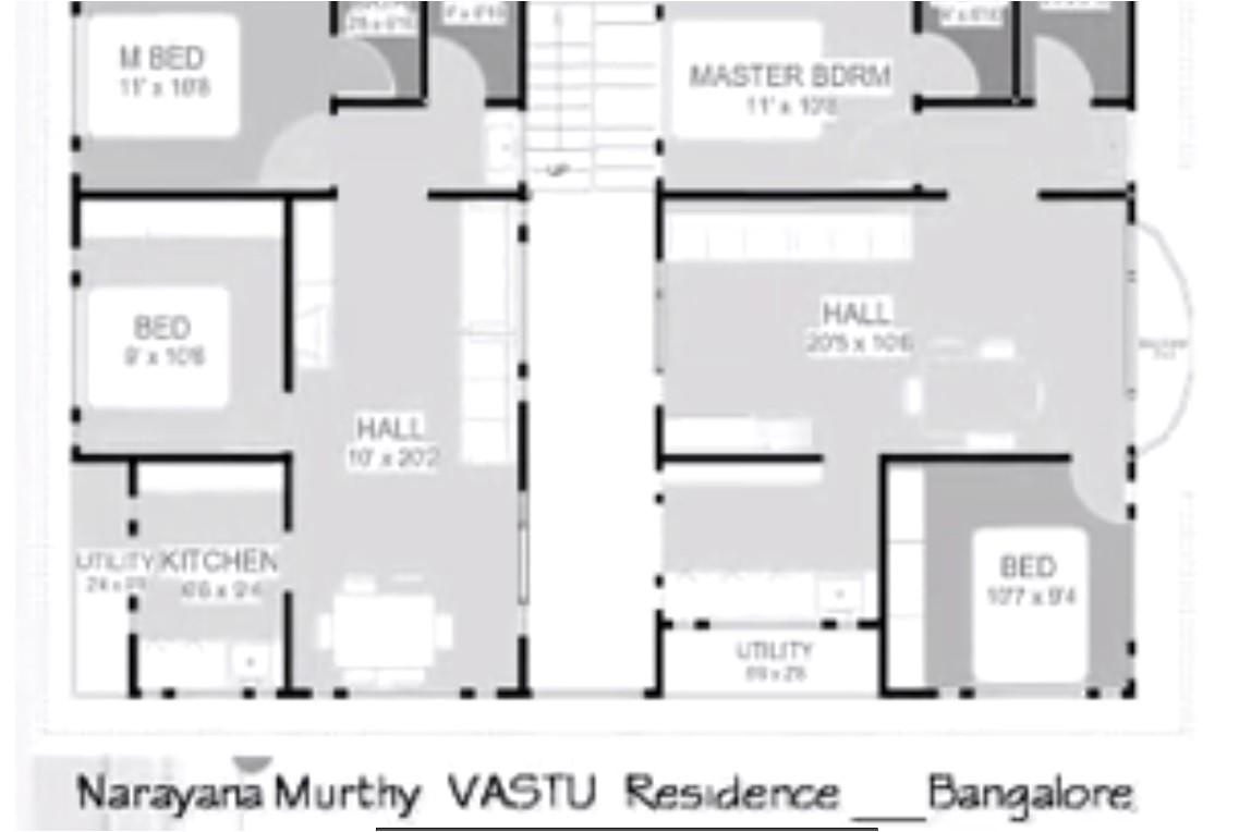 house plan north facing per vastu home design 2