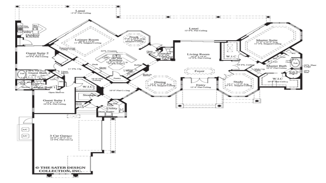 95858488adc5e759 house plan the cardiff sater design collection luxury house plans unique ranch house plans