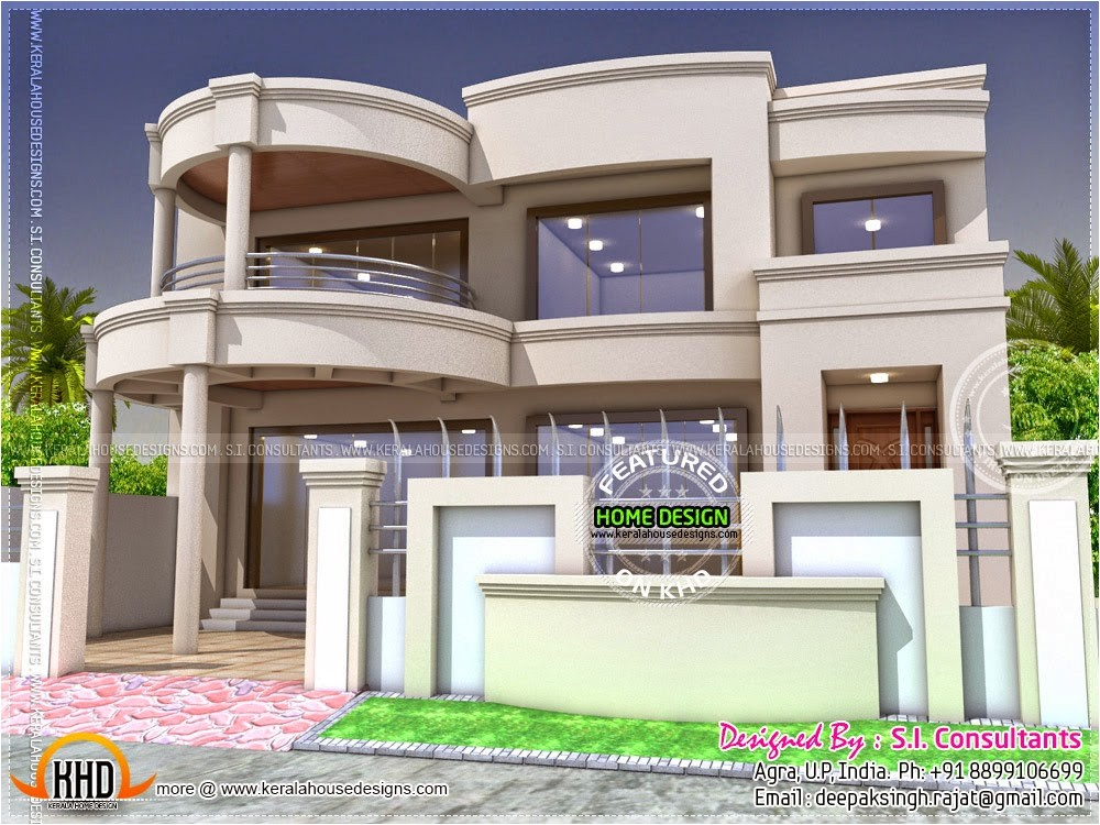 stylish indian home design and free