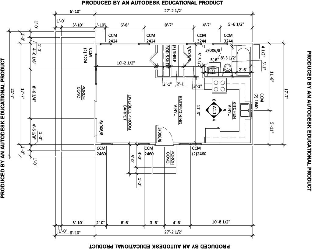 draw simple floor plans