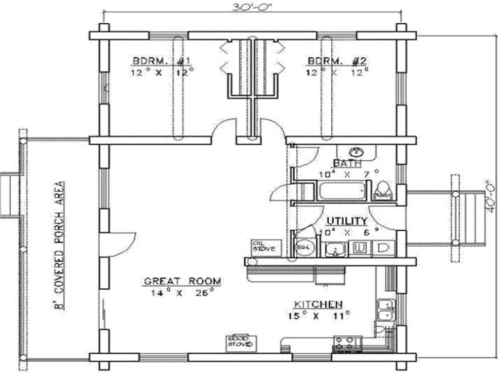19b575d964ce3712 1200 sq ft house plans 2 bedrooms 2 baths 1200 sq foot house floor plan