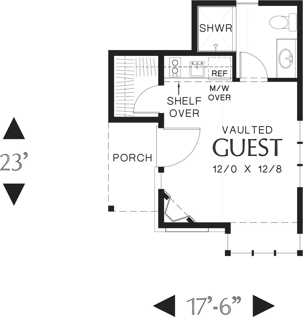 300 square feet 1 bedroom 1 bathroom 0 garage cottage 38531