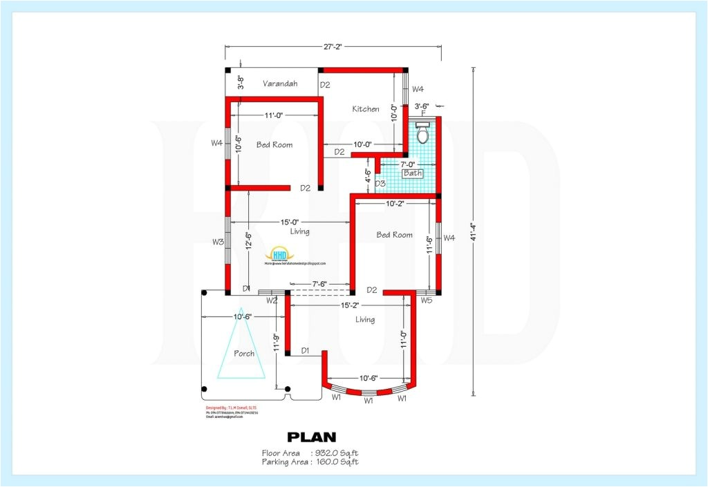 Home Plan for00 Sq Ft Indian Style 2 Bedroom House Plans Kerala Style 1200 Sq Feet Beautiful