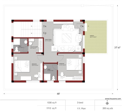 inspiring indian house plans for 1500 square feet houzone 1500 sq ft house plans india images