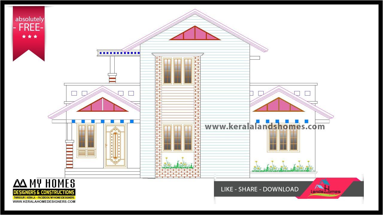 free home plans kerala