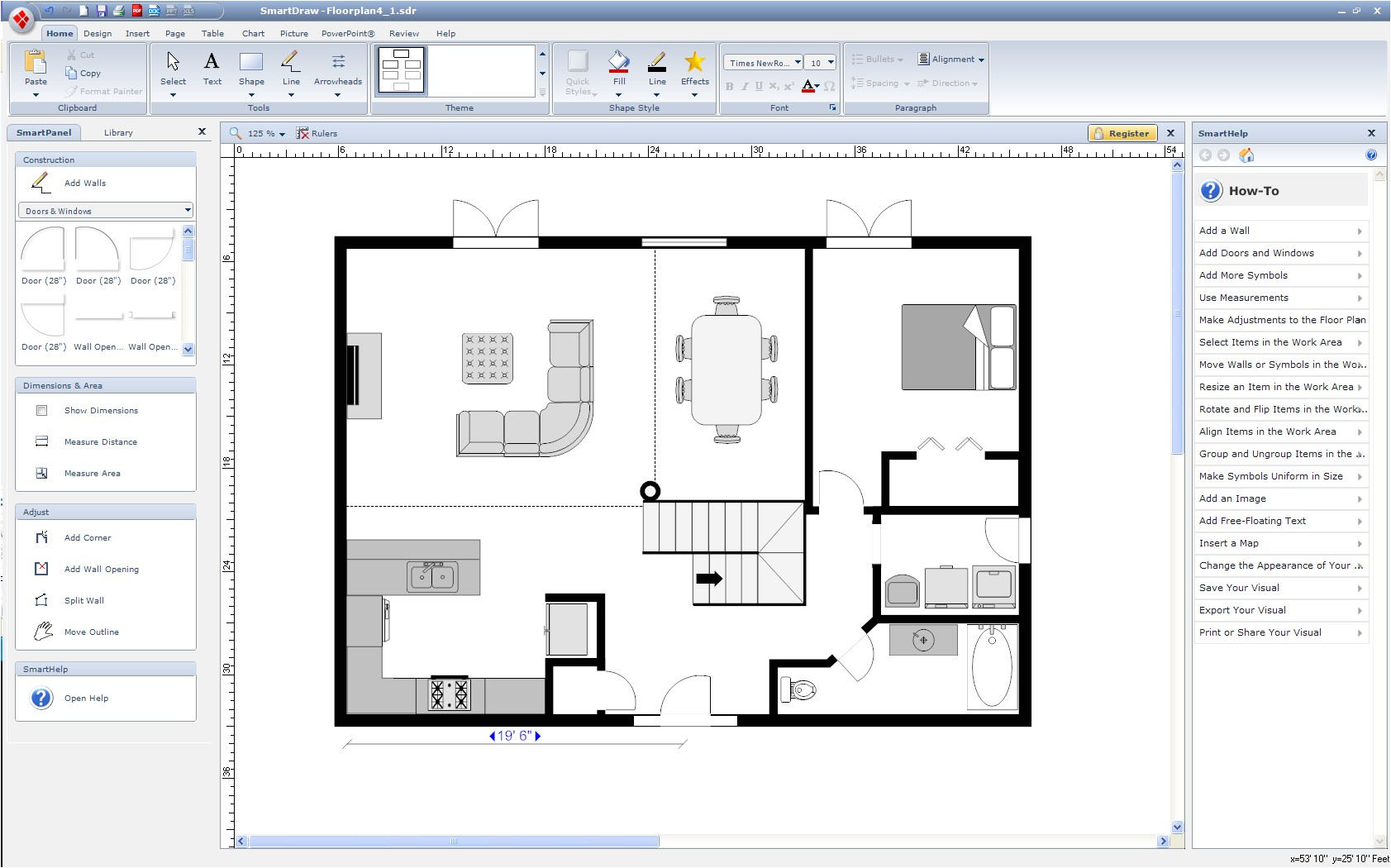 software to draw floor plans