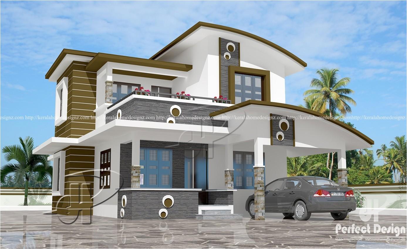 Home Planning Design 1560 Sq Ft Contemporary Home Design Kerala Home Design