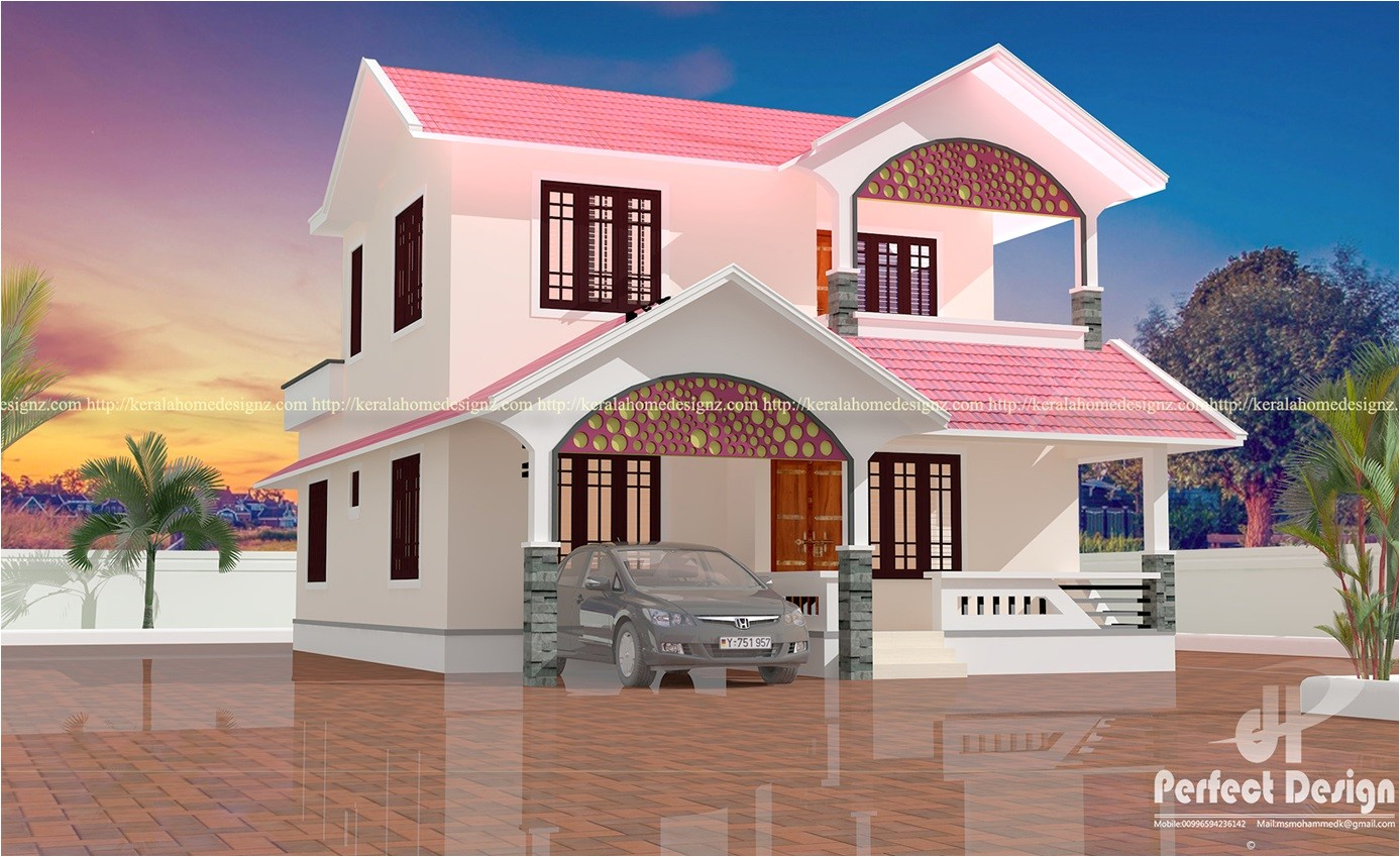 4 bedroom modern home design