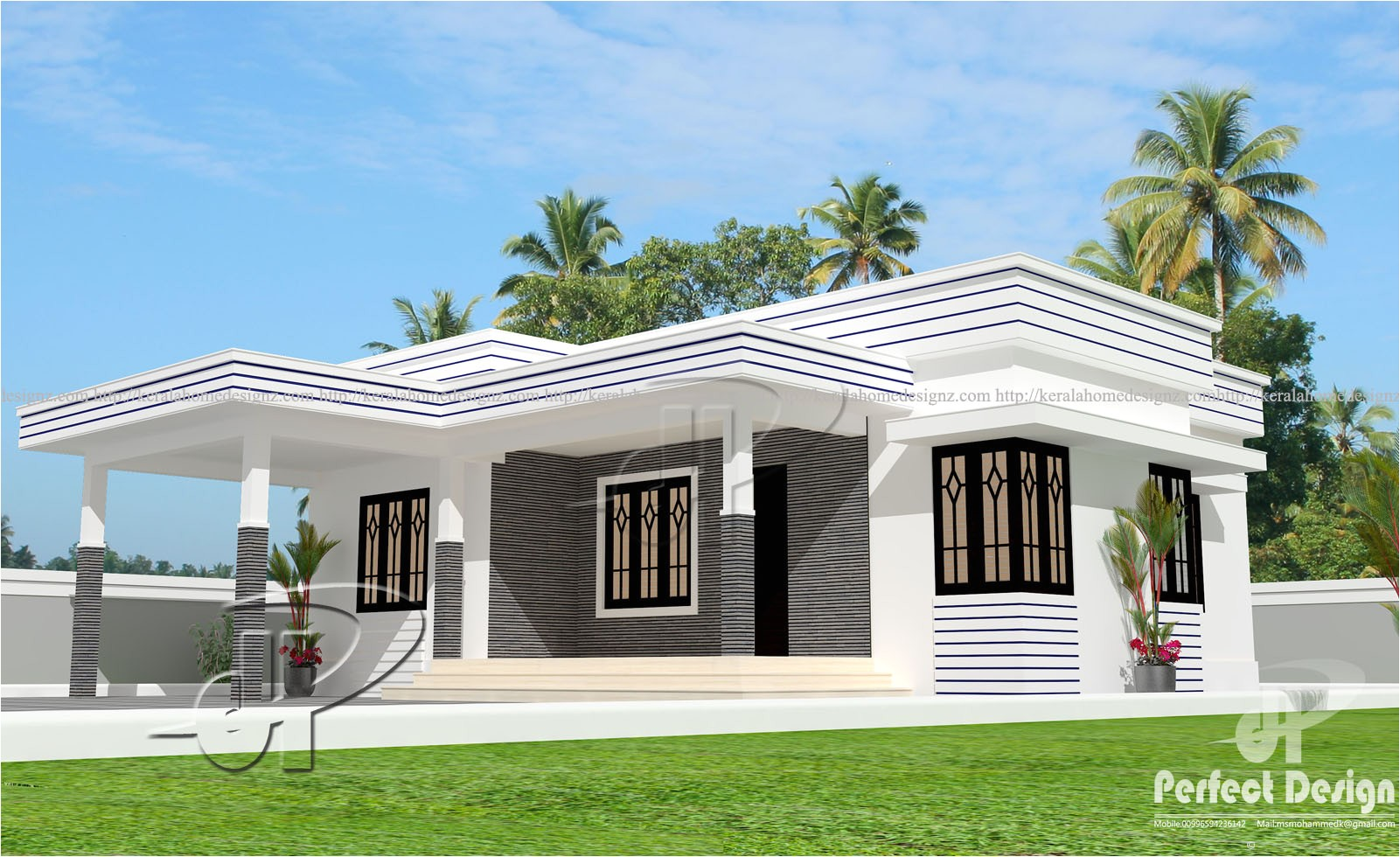 925 sq ft modern home design