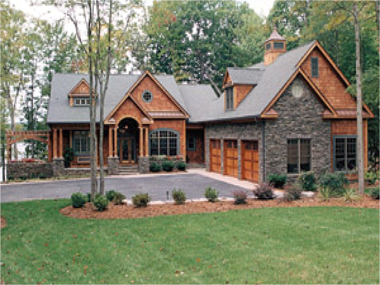 Home Plans Cottage Lakeside Cottage House Plan Cottage House Plans One Story