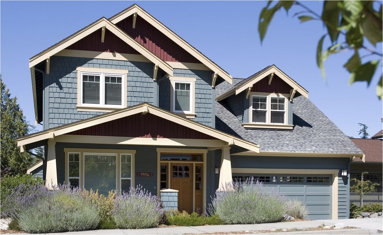 narrow lot house plans craftsman
