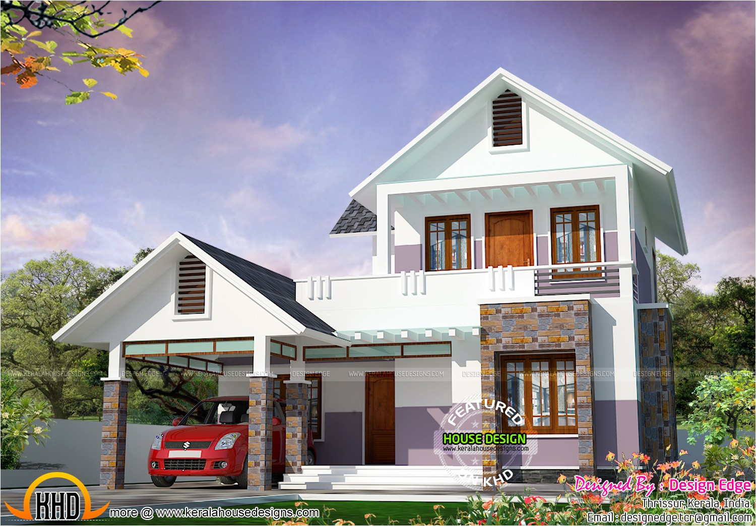 simple modern house in 1700 sq ft