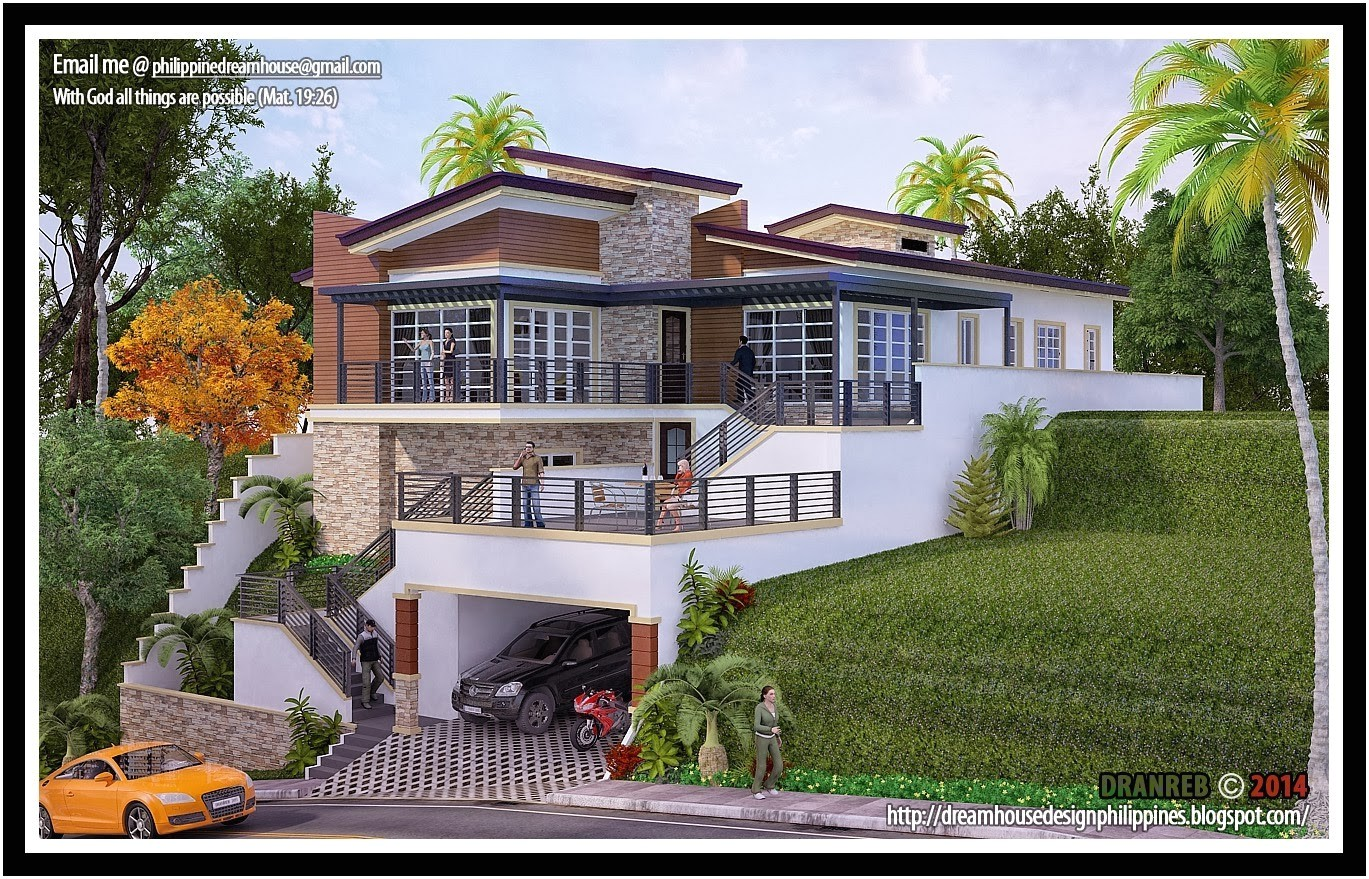 hillside house plans for sloping lots