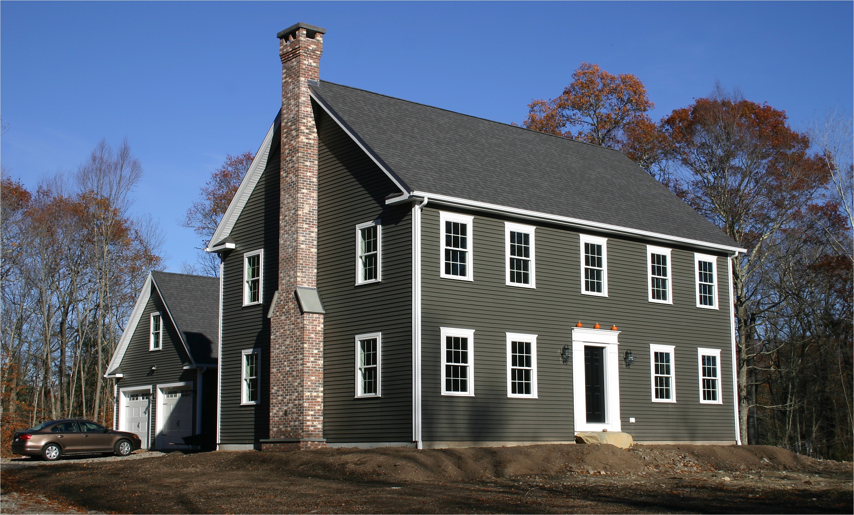 country style colonial home rehoboth ma