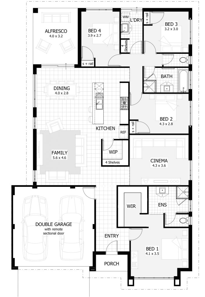 5 bedroom house plans perth