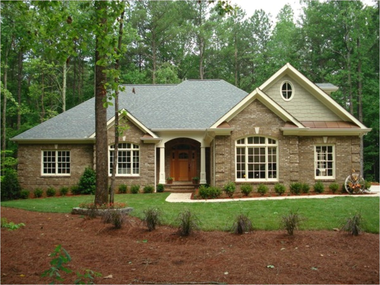 806debceee347743 brick home ranch style house plans modern ranch style homes