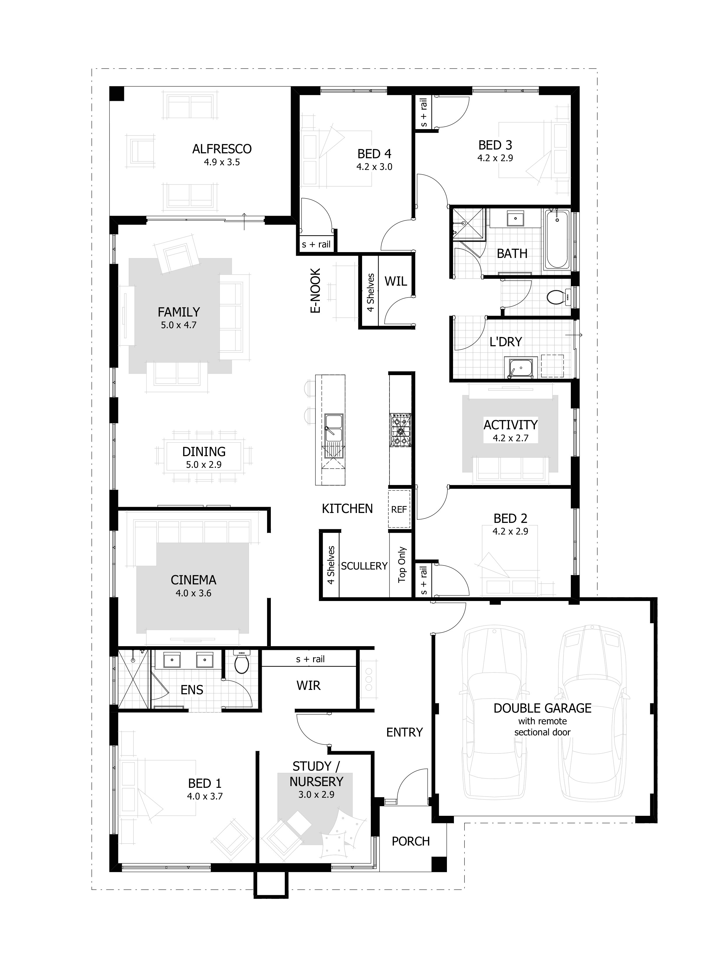 Home Plans Usa Two Storey House Plans Usa Luxury 6 Bedroom 1 Story House