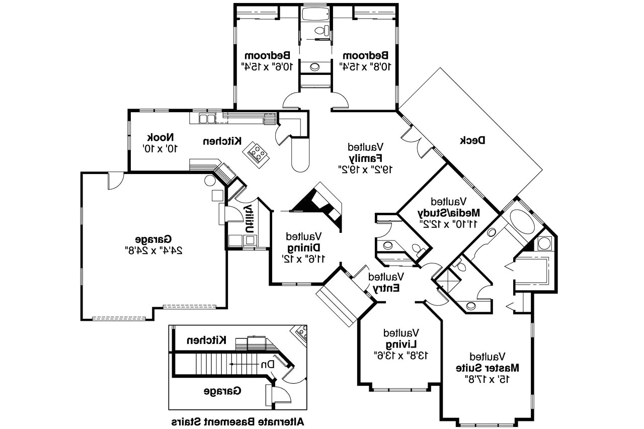 craftsman house plans with two master suites