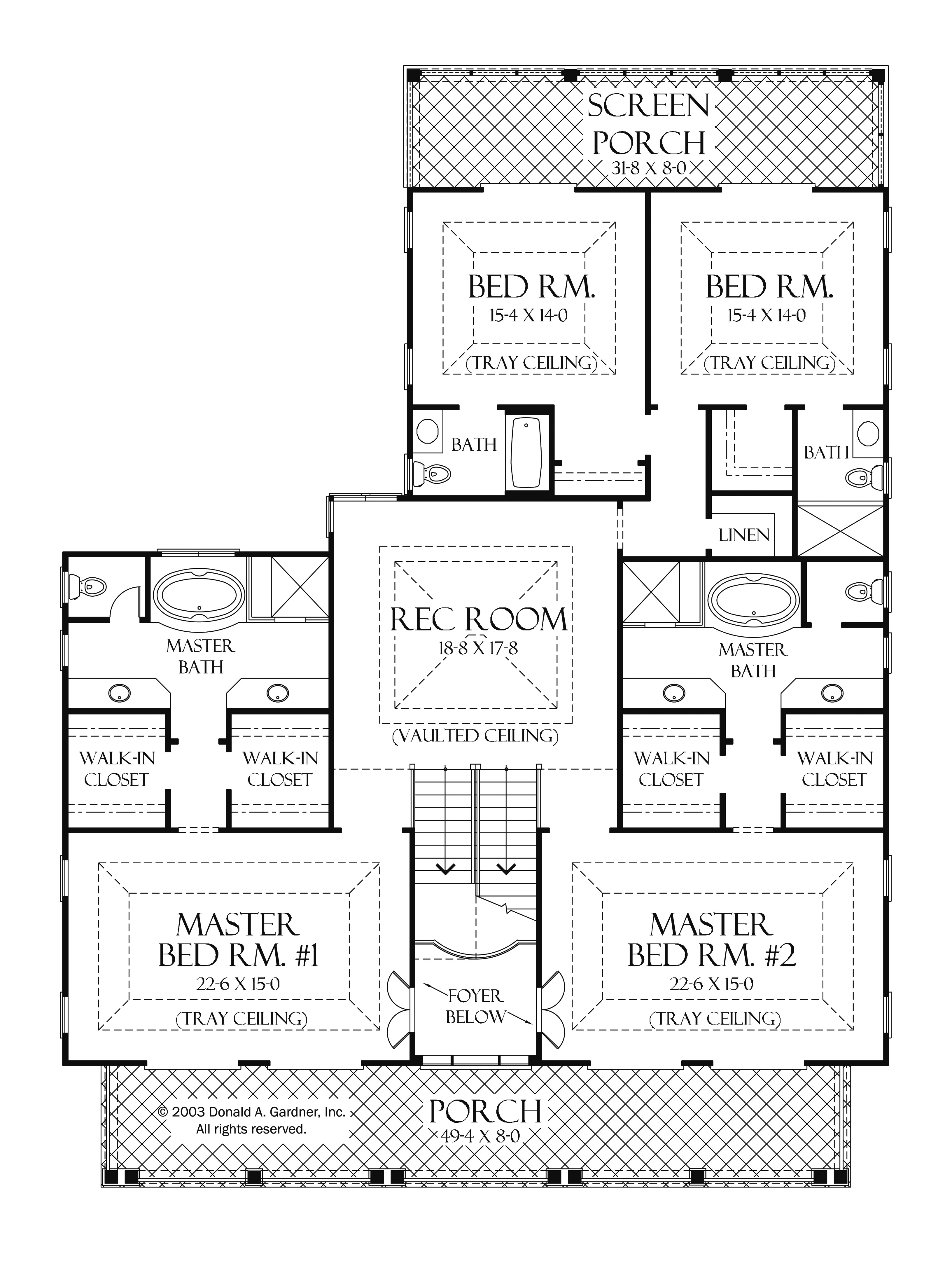 one level house plans with two master suites arts bedroom and bedrooms