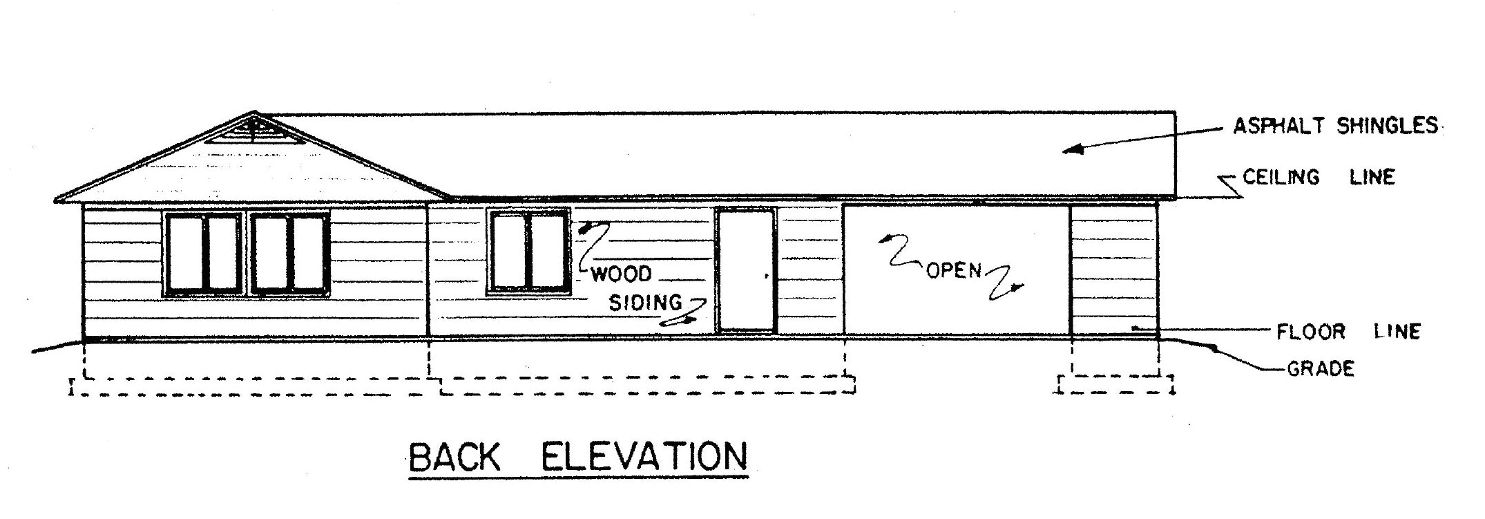 house plans with a view to the rear