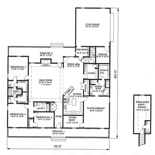 country house plans with big kitchens