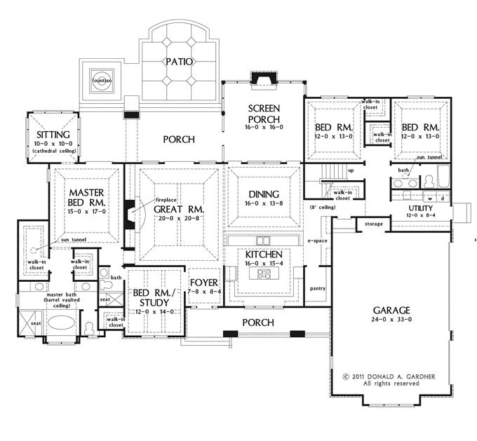 superb large kitchen house plans 5 one story house plans with porches