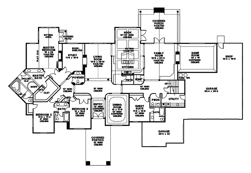house plan with guest apartment house design plans regarding home plans with detached guest house intended for house