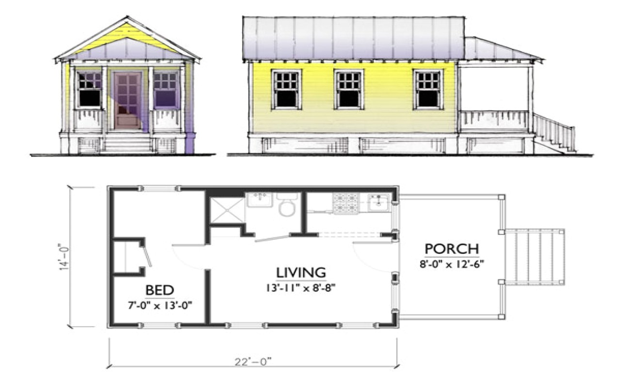 small guest house plans