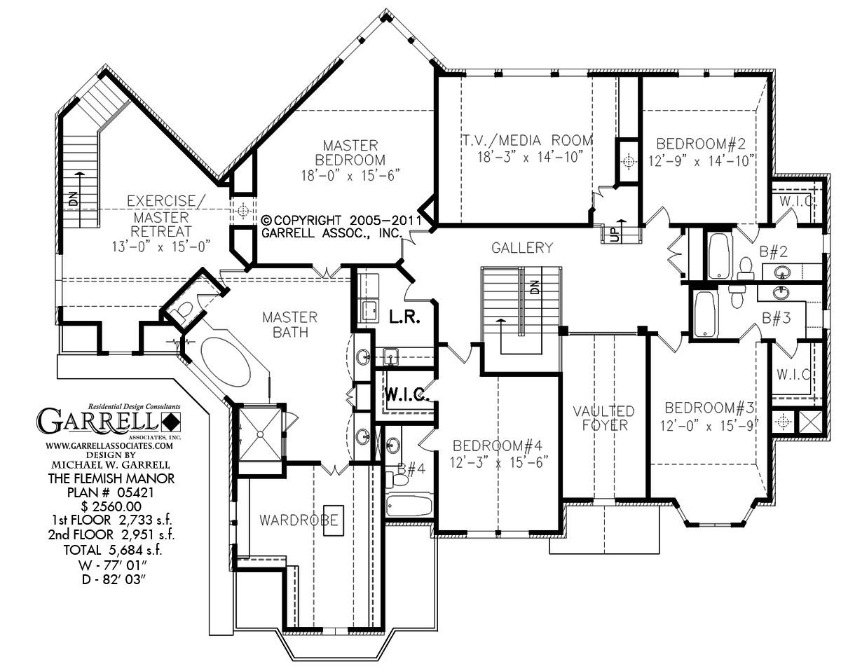 flemish manor house plan