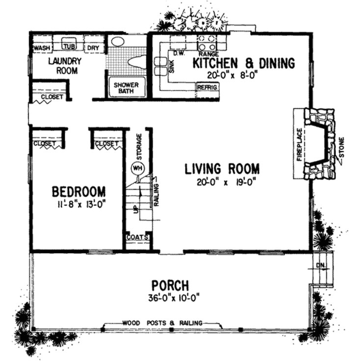 ranch house plans with mother in law apartment