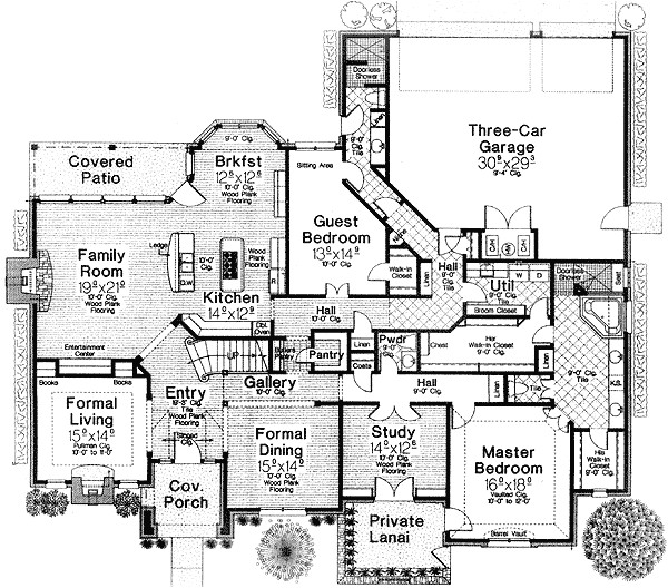 house plans with theater room