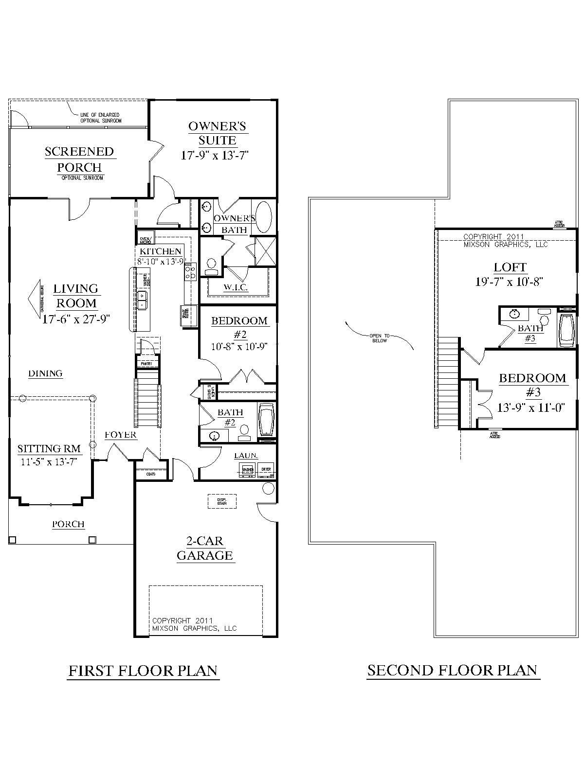 ranch home plans without formal dining room